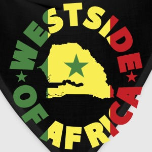 Senegal Westside of Africa Senegal Flag T-Shirt - Bandana
