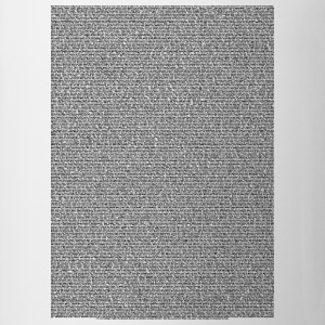 Bee a Movie script body Text for light shirt - Coffee/Tea Mug