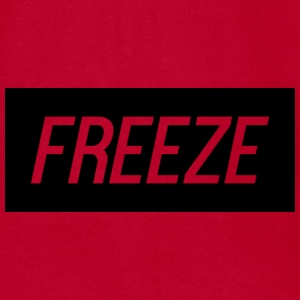 FreeZe Logo Mugs & Drinkware - Men's T-Shirt by American Apparel