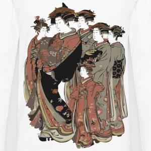Japanese Kimono Group T-Shirts - Men's Premium Long Sleeve T-Shirt