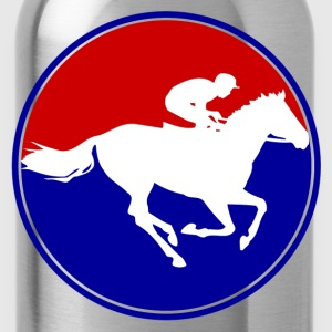 horse racing1.png T-Shirts - Water Bottle