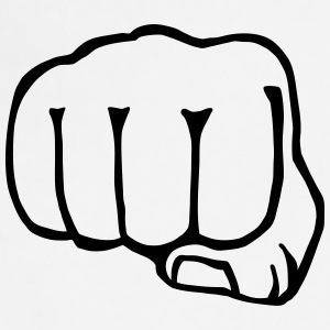 brofist / bro fist / fist bump 1c clipart Sportswear - Adjustable Apron