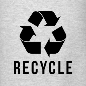 RECYCLE Hoodies - Men's T-Shirt