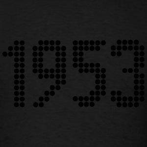 1953, Numbers, Year, Year Of Birth Long Sleeve Shirts - Men's T-Shirt