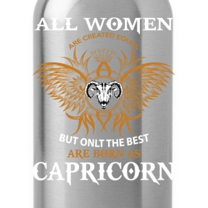 Capricorn Woman T-Shirts - Water Bottle
