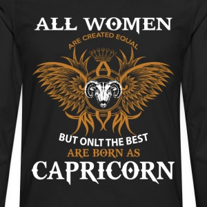 Capricorn Woman T-Shirts - Men's Premium Long Sleeve T-Shirt