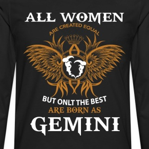 Gemini Woman T-Shirts - Men's Premium Long Sleeve T-Shirt