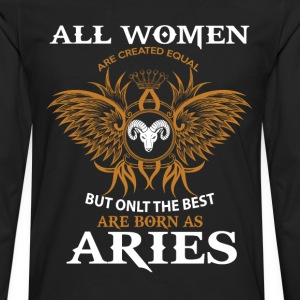 Aries Woman T-Shirts - Men's Premium Long Sleeve T-Shirt