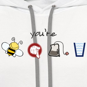 Bee-u-tea-full T-Shirts - Contrast Hoodie