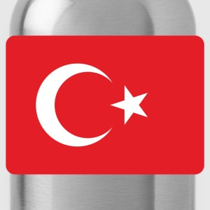 TURKEY FLAG Tanks - Water Bottle