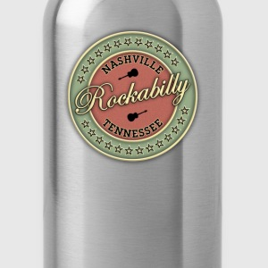 nashville rockabilly - Water Bottle