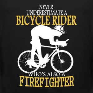 Bicycle Firefighter Shirt - Men's Premium Tank