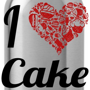 i love cake T-Shirts - Water Bottle