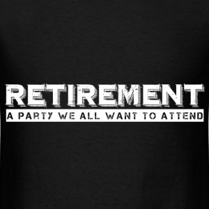 RETIREMENT Hoodies - Men's T-Shirt