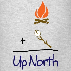 Cute Up North Math S'mores Hoodies - Men's T-Shirt