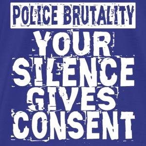 Silence Gives Consent Bags & backpacks - Men's Premium T-Shirt