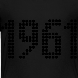 1961, Numbers, Year, Year Of Birth Kids' Shirts - Toddler Premium T-Shirt