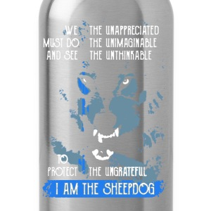 I Am The Sheepdog - Water Bottle