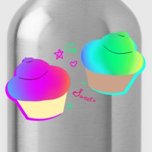 Rainbow Cupcake   - Water Bottle