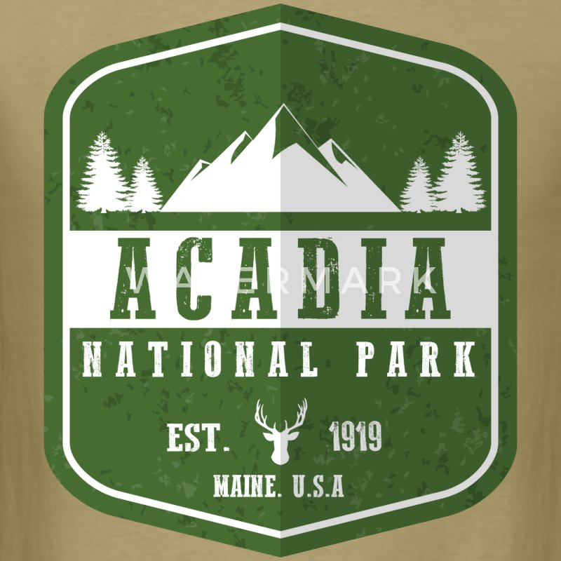 Acadia National Park T-Shirts - Men's T-Shirt