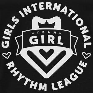 GIRLS INTERNATIONAL RHYTHM LEAGUE Tanks - Men's Premium T-Shirt