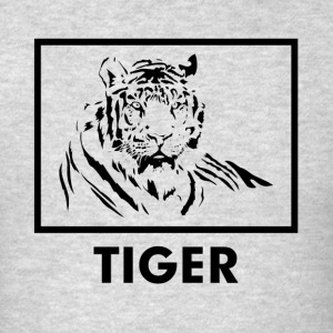 TIGER silhouette tattoo Sportswear - Men's T-Shirt