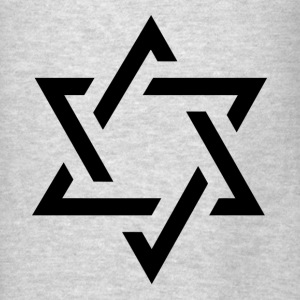 STAR OF DAVID Hoodies - Men's T-Shirt