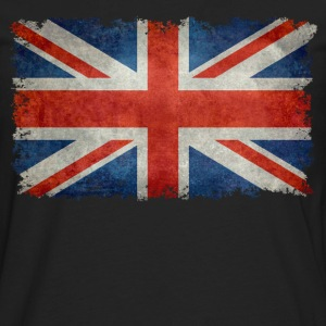 Union Jack flag vintage retro style T-Shirts - Men's Premium Long Sleeve T-Shirt