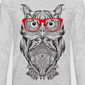 Wise Owl - Men's Premium Long Sleeve T-Shirt