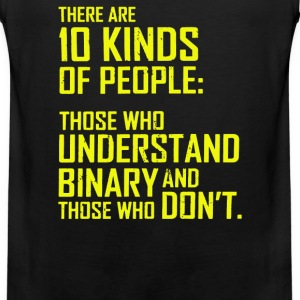 10 kinds of people binary T-Shirts - Men's Premium Tank