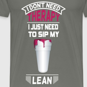 NEED TO SIP LEAN Long Sleeve Shirts - Men's Premium T-Shirt