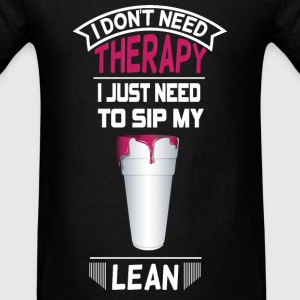 NEED TO SIP LEAN Long Sleeve Shirts - Men's T-Shirt