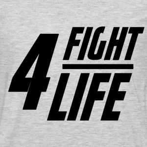 Fight 4 Life T-Shirts - Men's Premium Long Sleeve T-Shirt