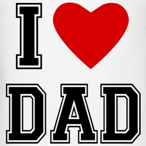 I Love Dad Baby Bodysuits - Men's T-Shirt
