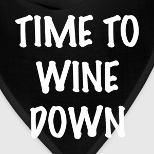 WINE DOWN T-Shirts - Bandana