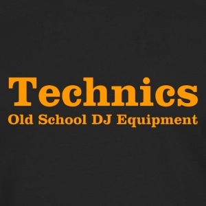 technics orange - Men's Premium Long Sleeve T-Shirt