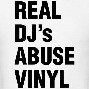 REAL DJ's ABUSE VINYL Sportswear - Men's T-Shirt