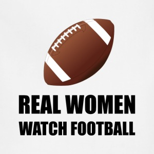 Real Women Watch Football - Adjustable Apron