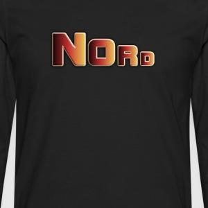 nord colorful - Men's Premium Long Sleeve T-Shirt