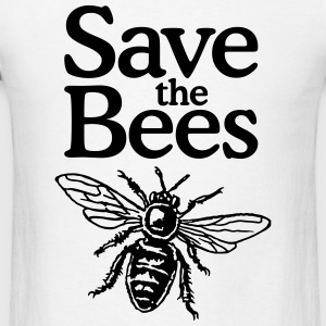 Save The Bees Beekeeper Quote Design Sportswear - Men's T-Shirt