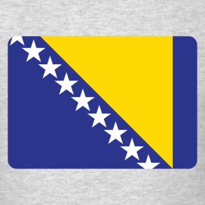 BOSNIA IS THE NUMBER 1 Long Sleeve Shirts - Men's T-Shirt
