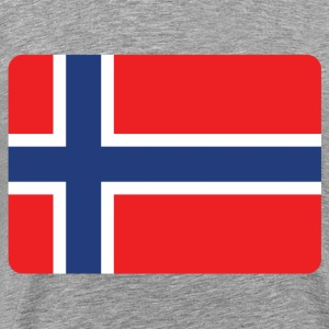 NORWAY IS THE NUMBER 1 Long Sleeve Shirts - Men's Premium T-Shirt