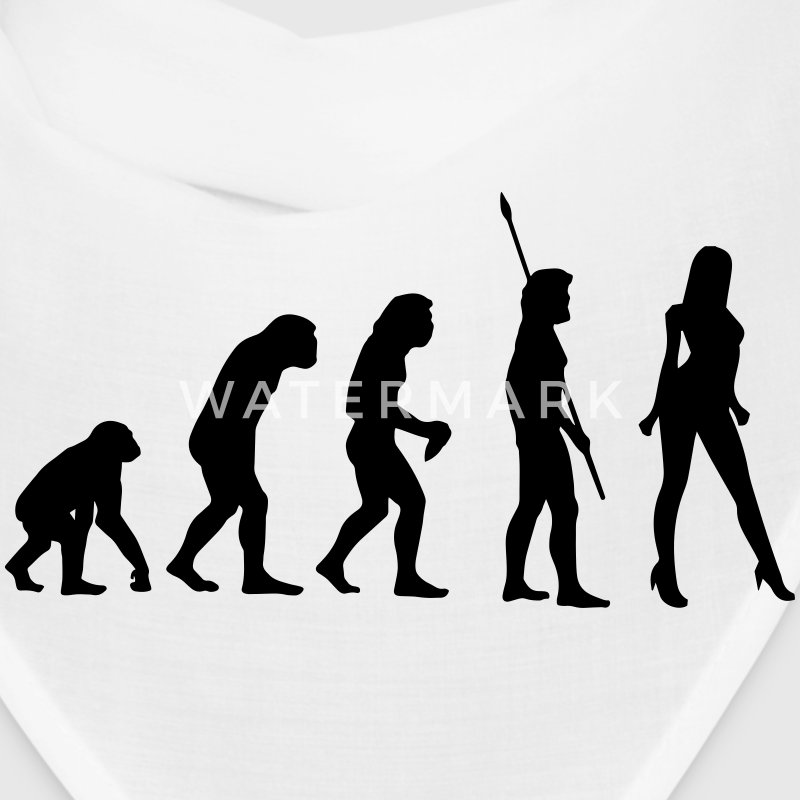 EVOLUTION OF WOMEN! Caps - Bandana