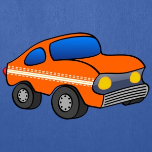 orange funny car T-Shirts - Tote Bag