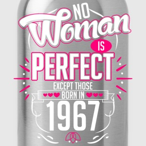 No Woman Is Perfect Except Those Born In 1967 - Water Bottle