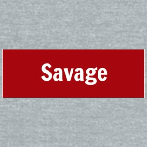 Savage Cup - Unisex Tri-Blend T-Shirt by American Apparel
