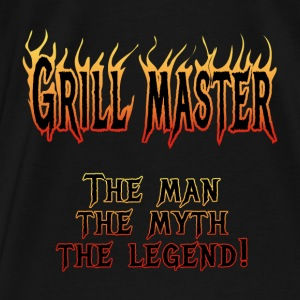 Grill Master Hoodies - Men's Premium T-Shirt