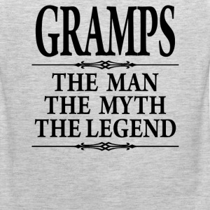 Gramps The Man The Myth The Legend - Men's Premium Tank