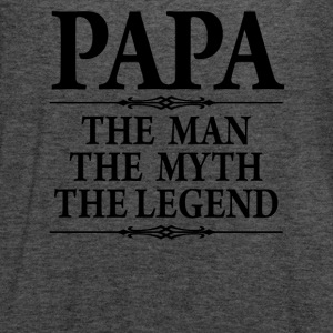 Papa The Man The Myth he Legend - Women's Flowy Tank Top by Bella