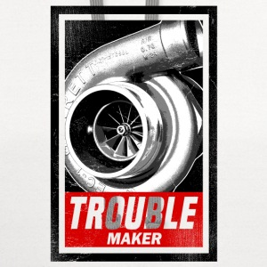 trouble_maker_subgirl T-Shirts - Contrast Hoodie